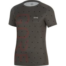 GORE WEAR M Brand Shirt Women terra grey/hibiscus pink